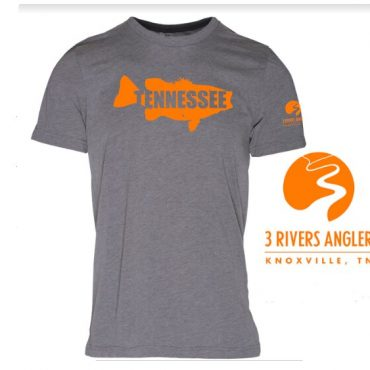 Our signature UT orange smallmouth shirt. Slim fit, comfy cotton blend, and features our logo on the sleeve.