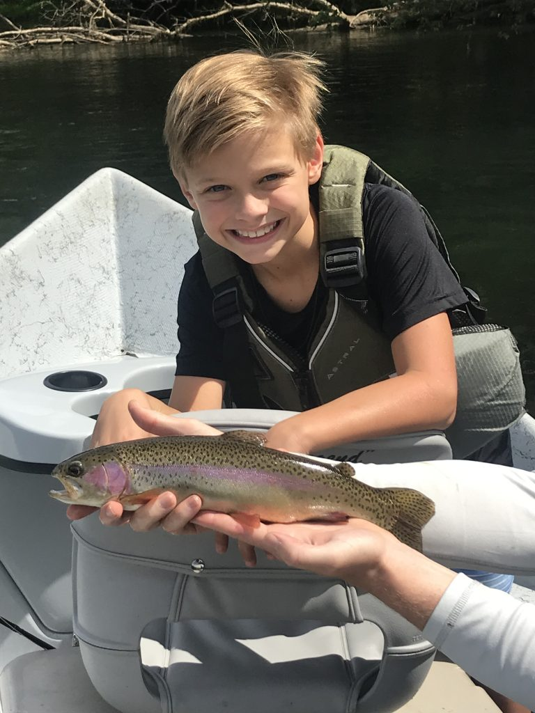 kids fly fishing lessons